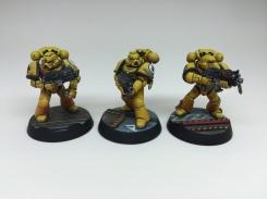 Squad 1 - Bolter Dudes