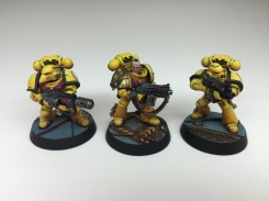 Squad 2 - Bolters and Melta Gun